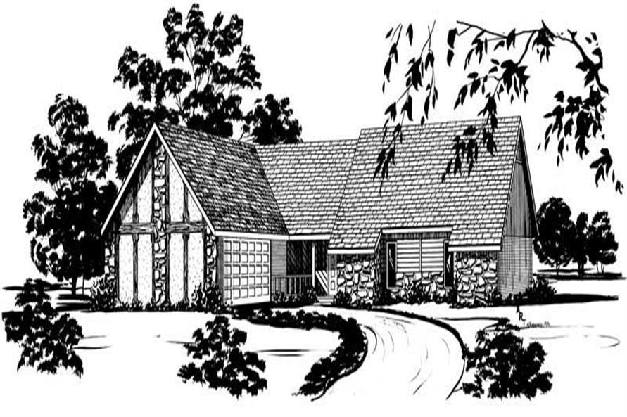 Main image for houseplan # 1798