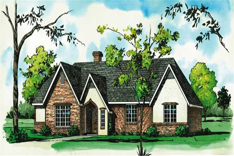 Main image for house plan # 1766