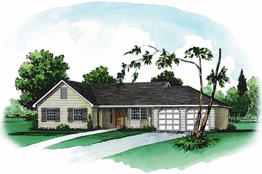 Main image for Farmhouse Home plans # 1756