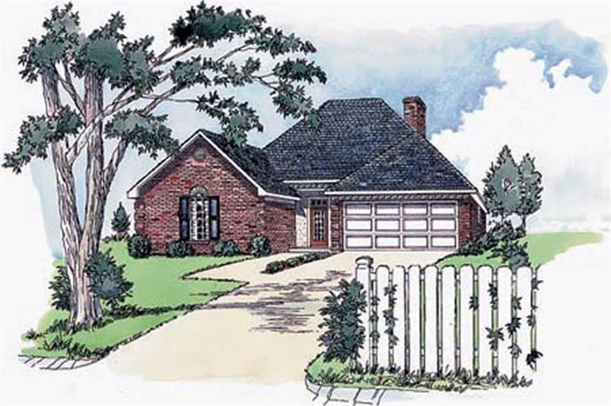 Main image for Georgian houseplans # 1760