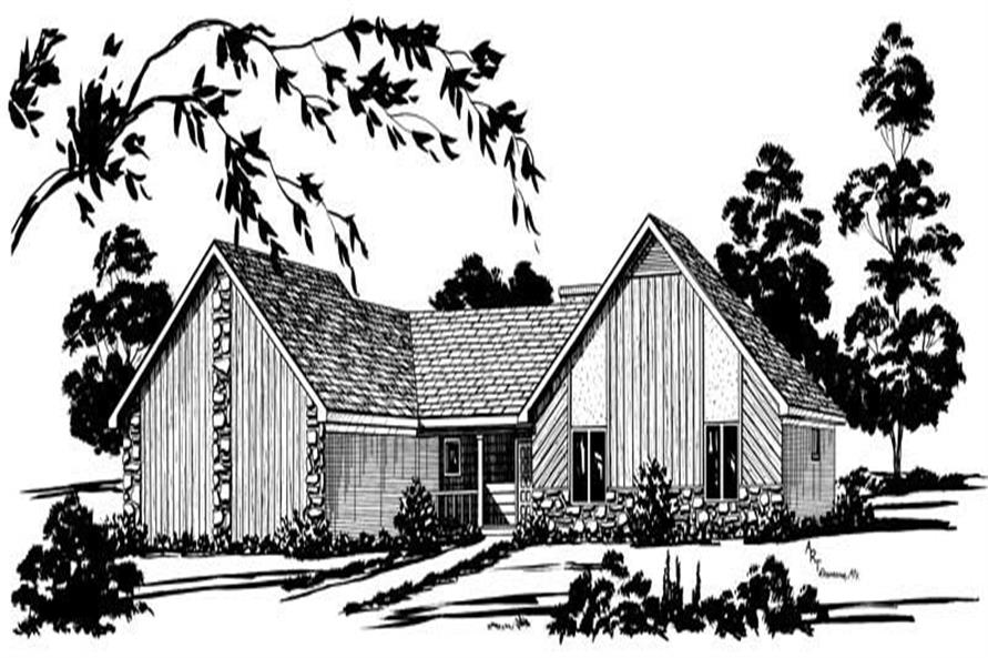 Main image for Traditional homeplans # 1780