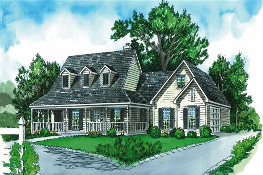 Main image for farmhouse homeplans # 1778