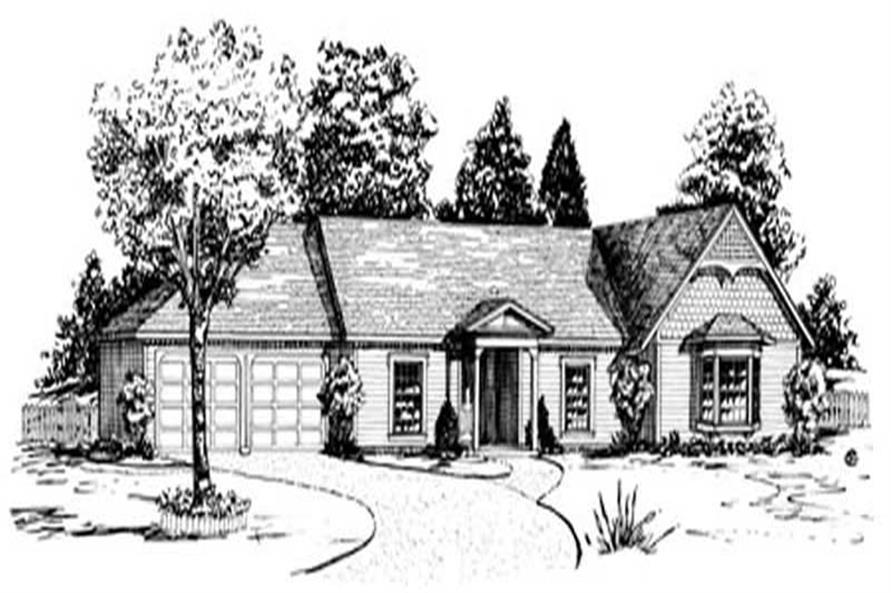 Main image for Traditional Homeplans # 1775