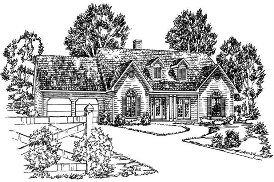 Main image for Traditional homeplans # 1772