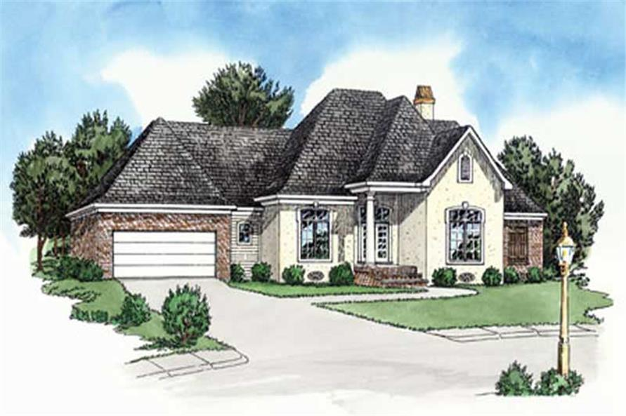 Main image for Traditional Homeplans # 9165