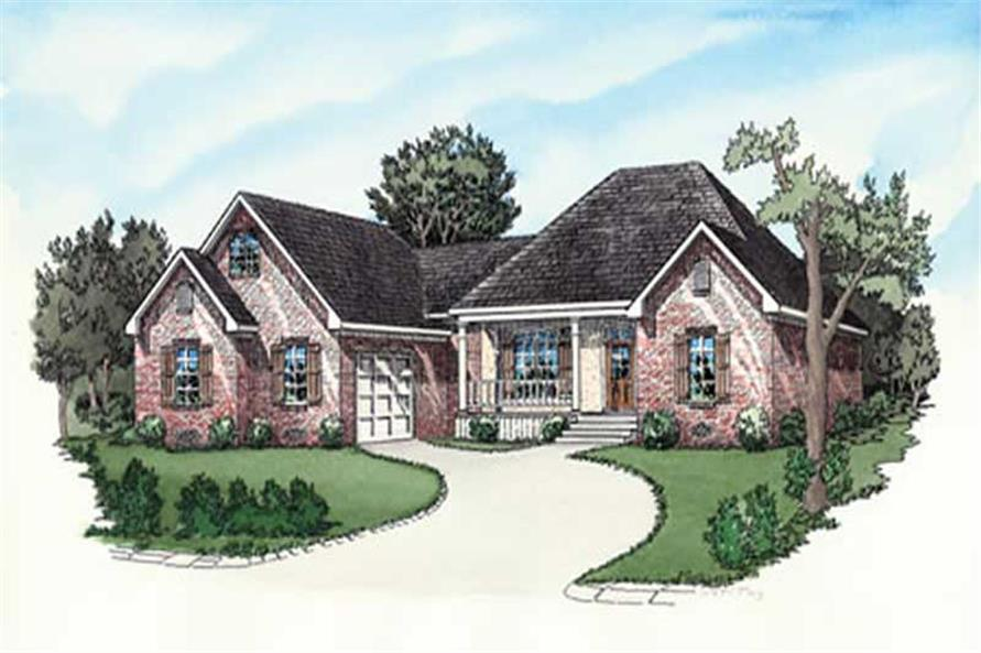 Main image for house plan # 9168