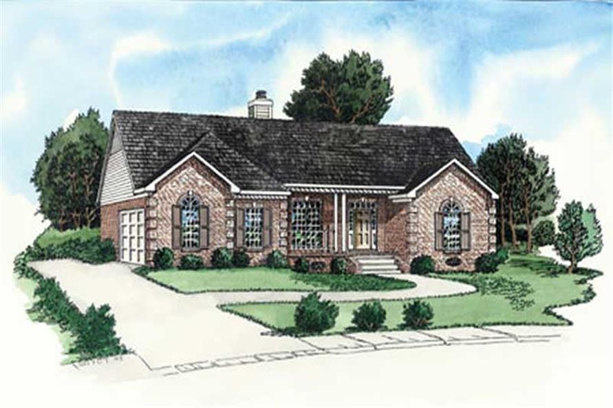 Main image for house plan # 9161