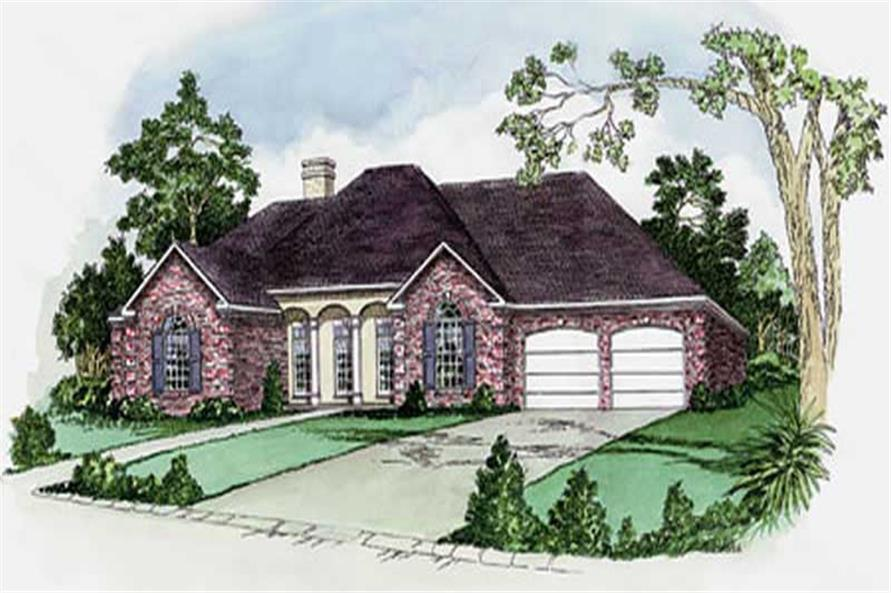 Main image for house plan # 9167