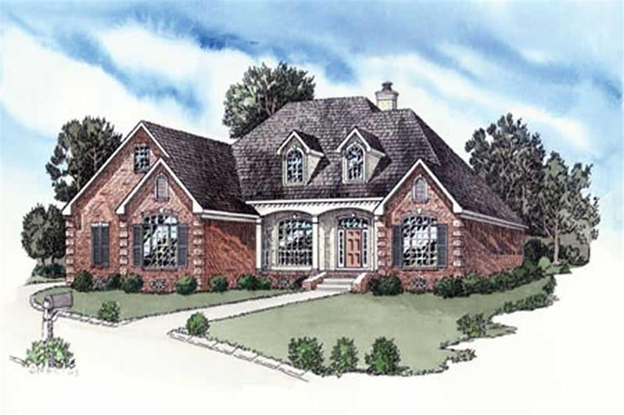 Main image for home plan # 9177