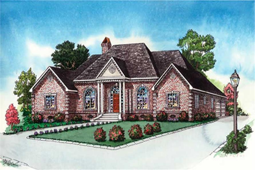 Main image for Georgian house plan # 10337