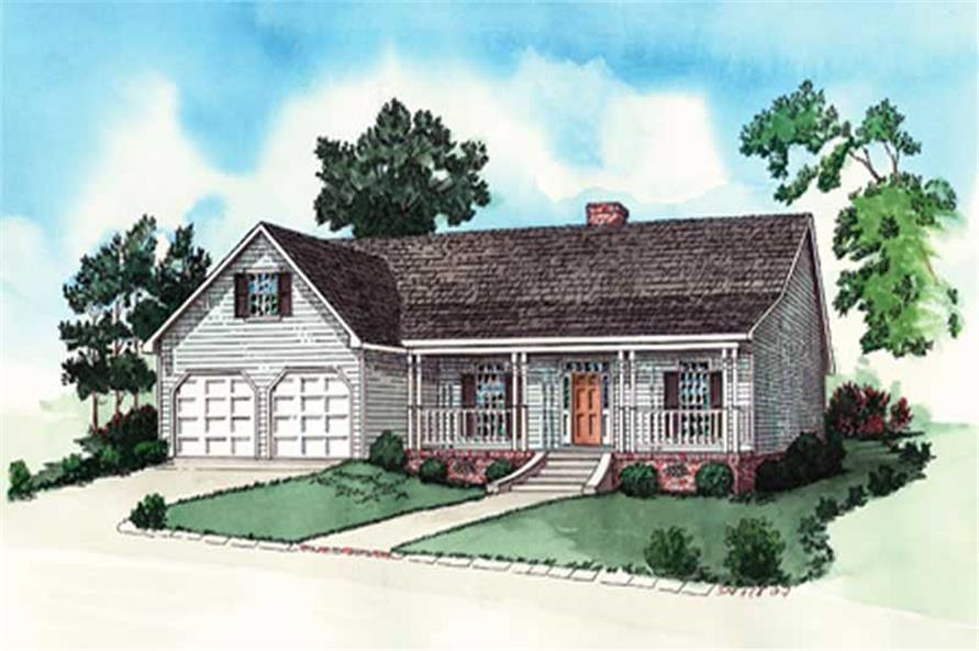 Main image for traditional home plan # 10240
