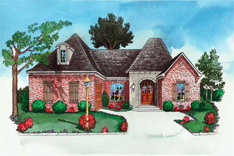 Main image for French house plan # 10341
