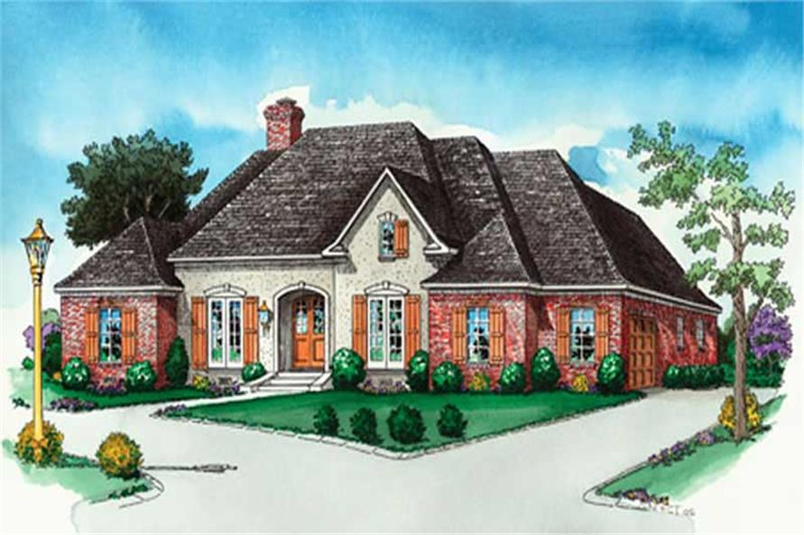 Main image for French house plan # 10338
