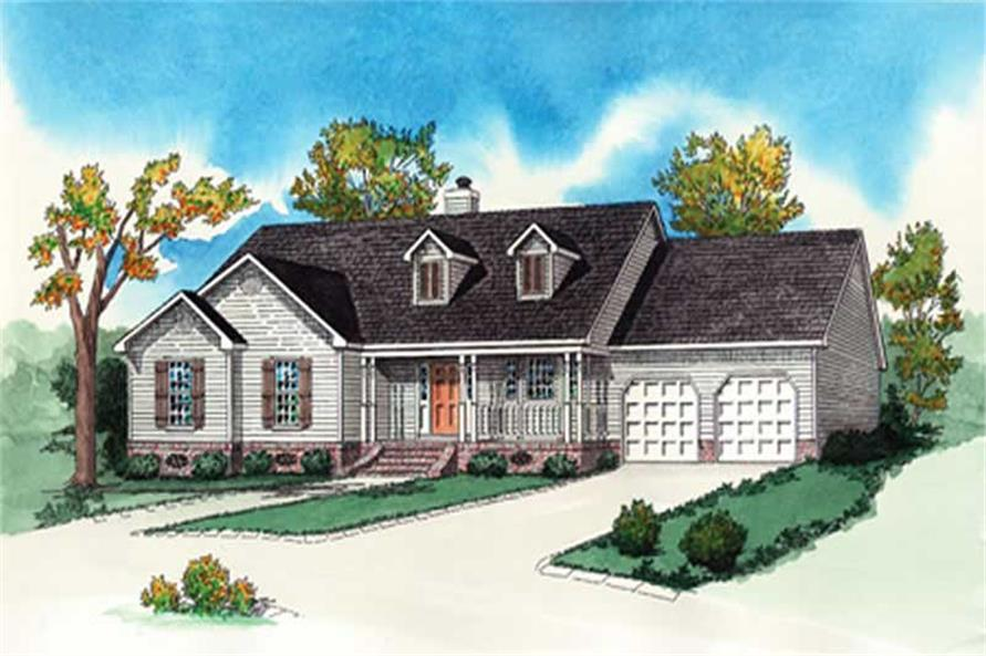 Main image for Traditional houseplans # 10335