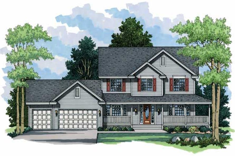 Country House Plans CLS-2212.