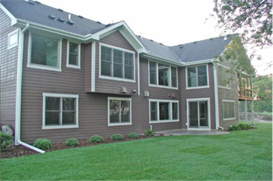 165-1109: Home Exterior Photograph-Rear View