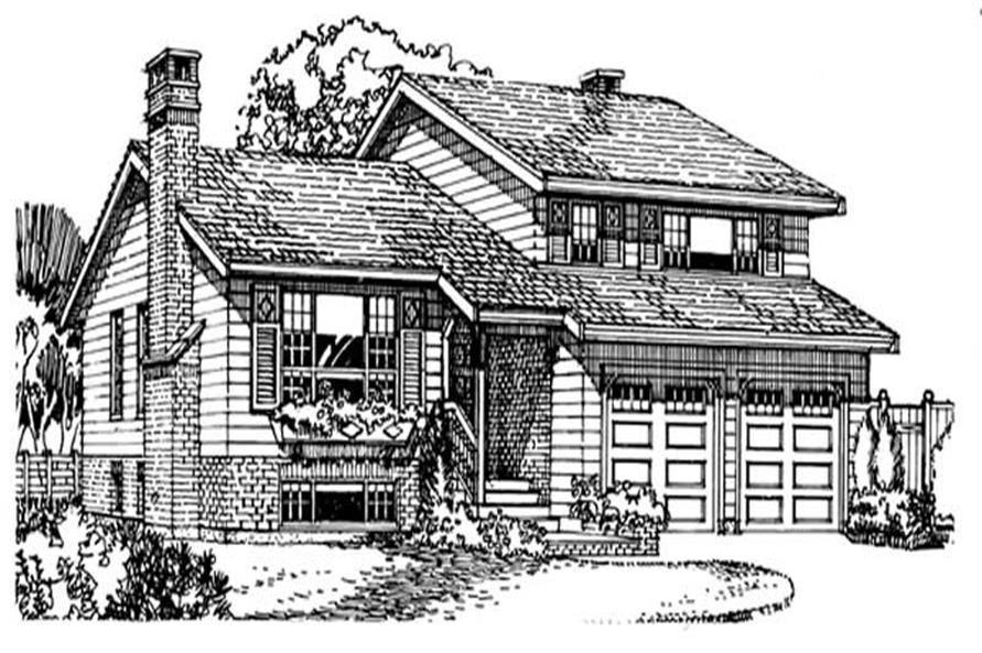 Main image for house plan # 7033