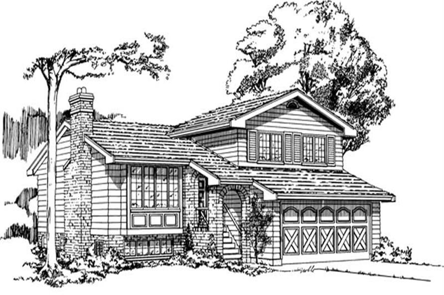 Main image for house plan # 7034