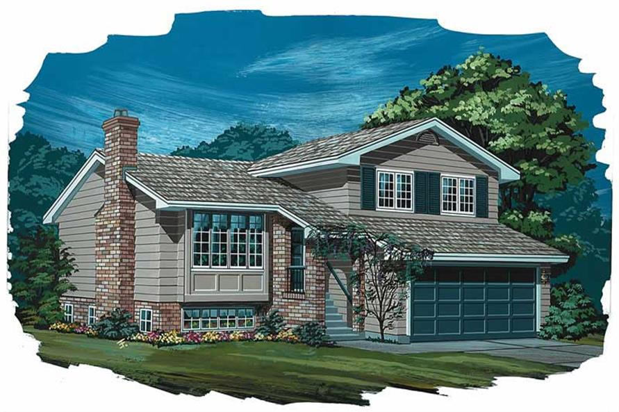 Main image for house plan # 7035