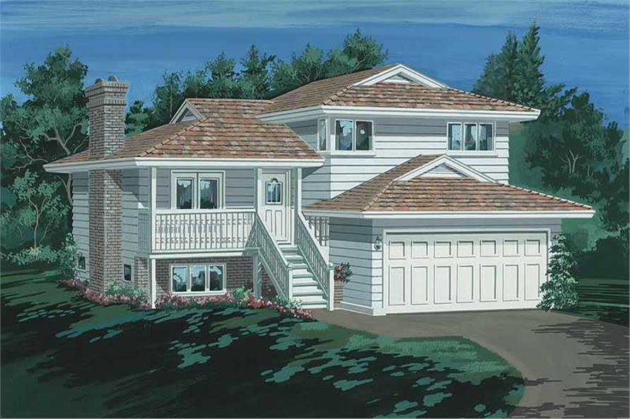 Main image for house plan # 7030