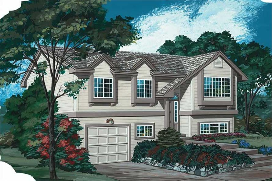 Main image for house plan # 7050