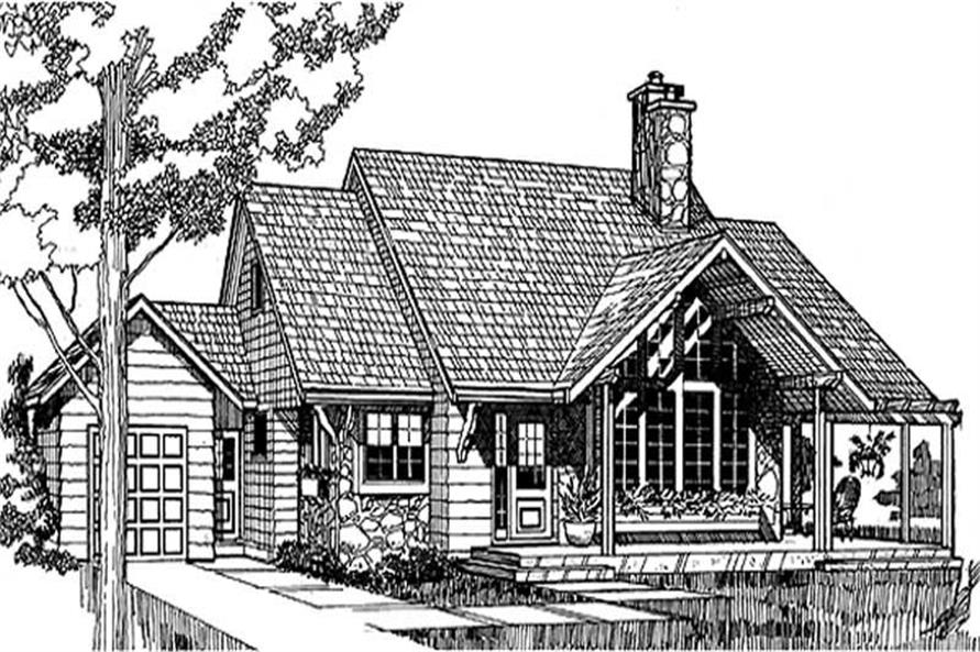 Main image for house plan # 7001