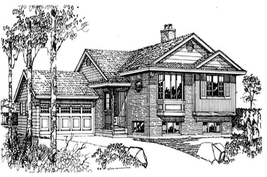Main image for house plan # 7032