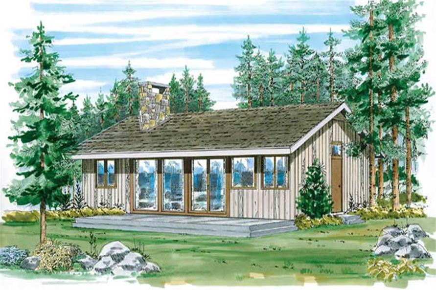 Main image for house plan # 7008
