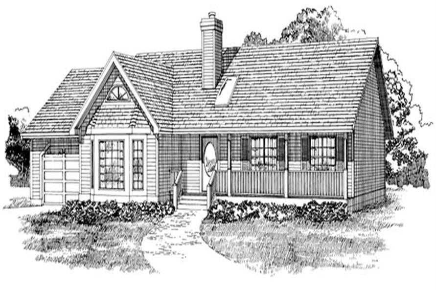 Main image for house plan # 7114