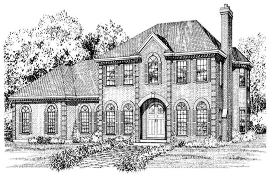 Main image for house plan # 7103