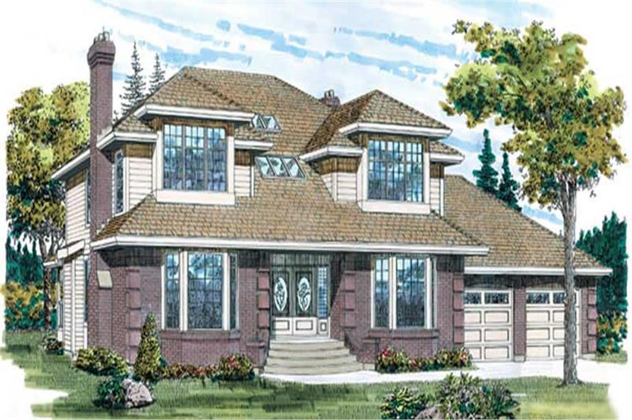 Main image for house plan # 7106