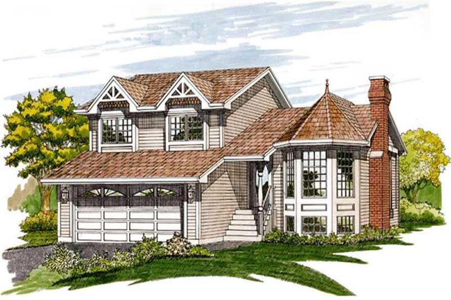 Main image for house plan # 7096