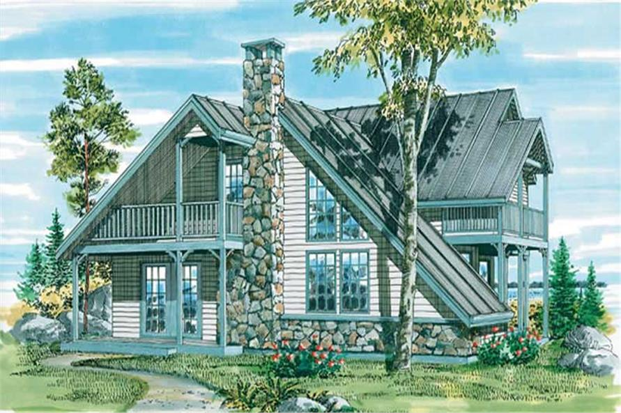 Main image for house plan # 7095