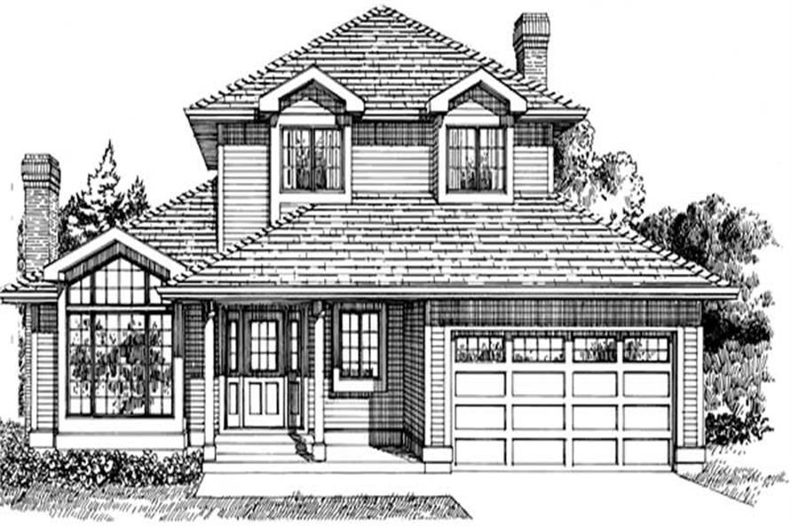 Main image for house plan # 7118
