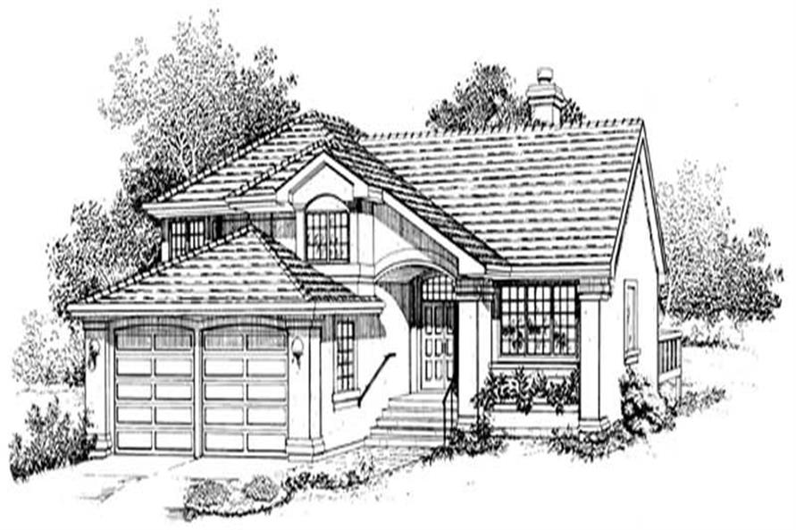 Main image for house plan # 7128