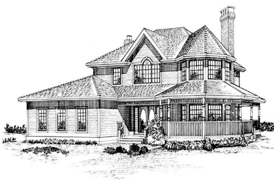 Main image for house plan # 7131