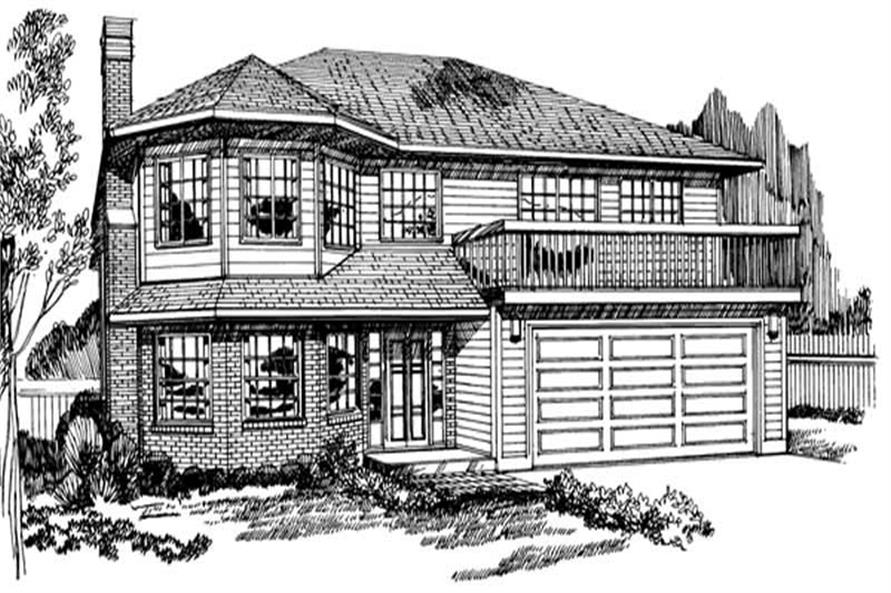 Main image for house plan # 7073