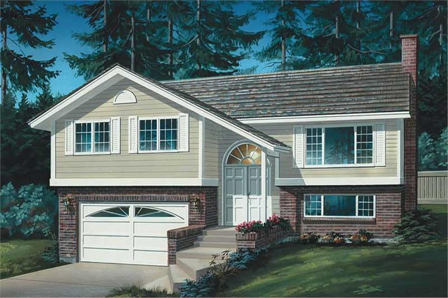 Main image for house plan # 7068