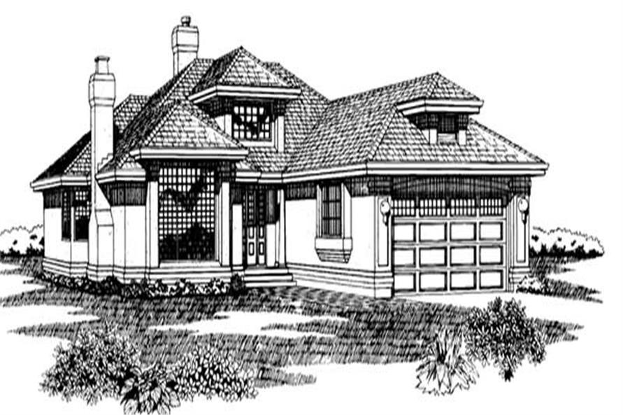 Main image for house plan # 7097
