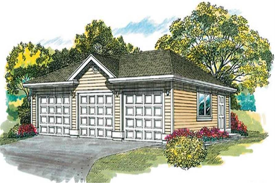 Main image for house plan # 7375