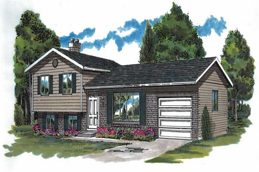 Main image for house plan # 7012