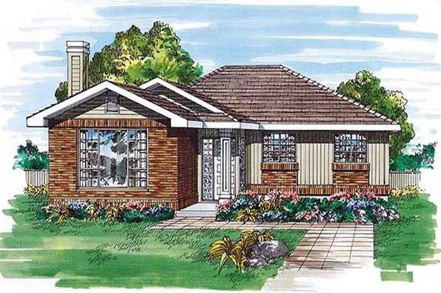 Main image for house plan # 6981
