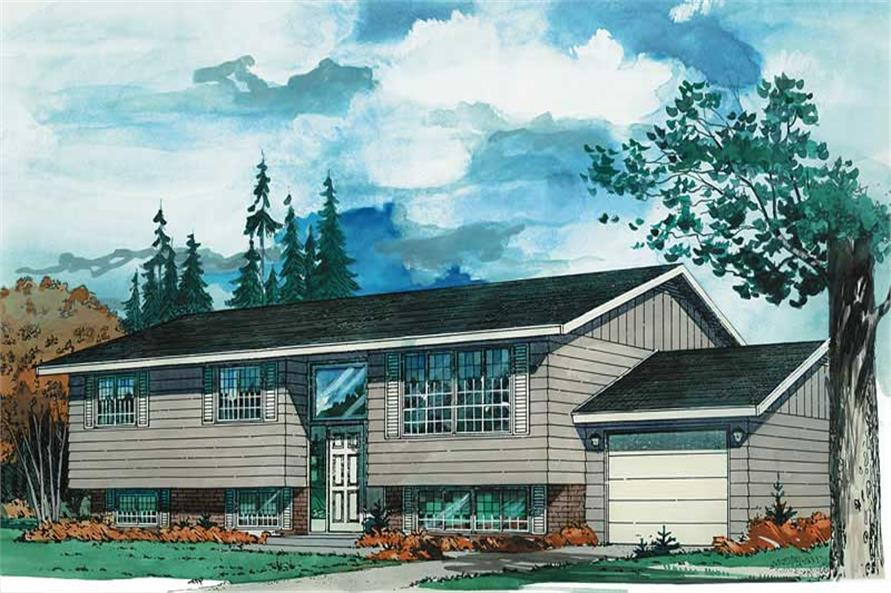 Main image for house plan # 7015