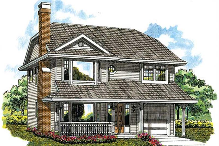 Main image for house plan # 7041