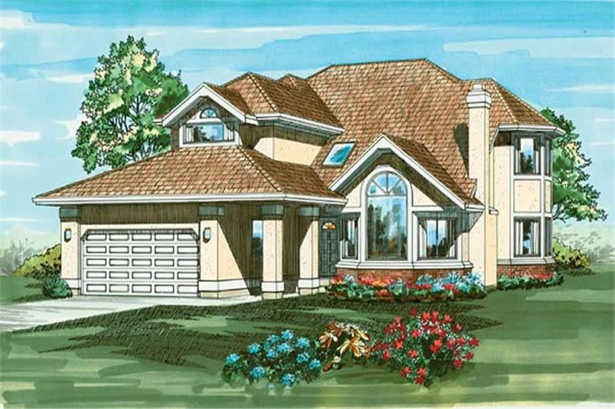 Main image for house plan # 6840