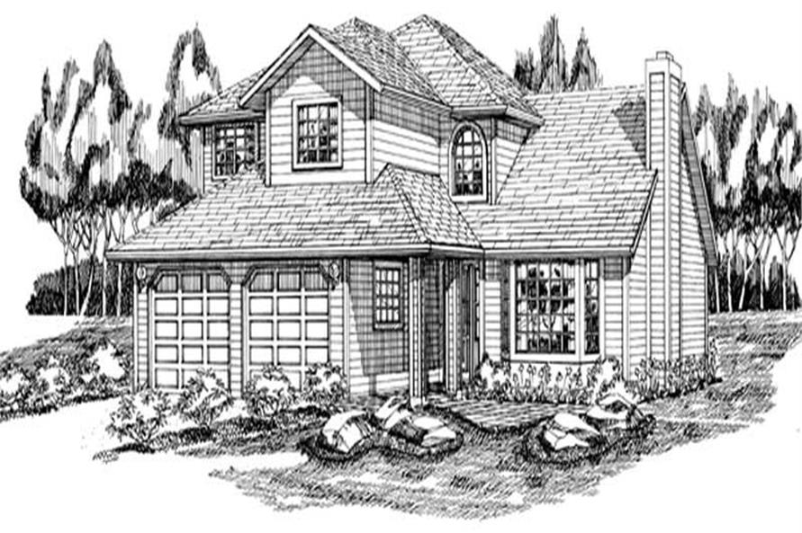 Main image for house plan # 6897