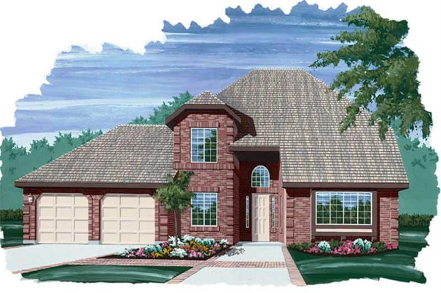 Main image for house plan # 6899