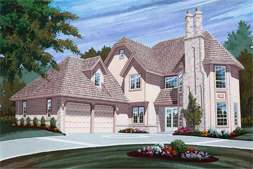 Main image for house plan # 6903
