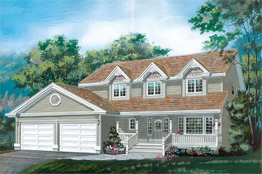 Main image for house plan # 6910
