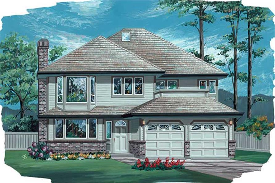 Main image for house plan # 6844
